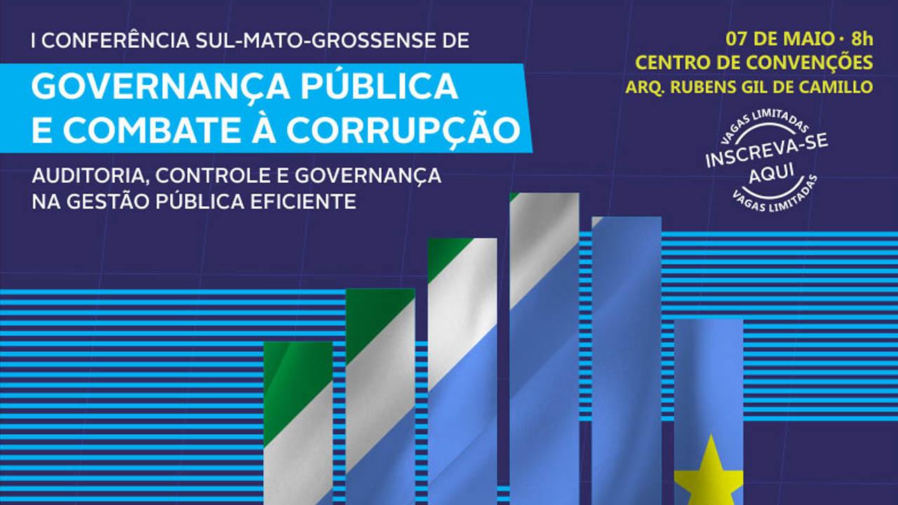 CRA-MS e Rede de Controle mobilizam gestores para evento sobre governança pública e combate à corrupção
