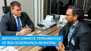 Presidente do CRA-MS apresenta ferramentas de boa governança municipal ao deputado Contar