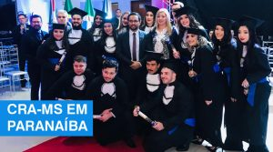 Em Paranaíba, CRA-MS participa de colação de grau e promove atividades de registro profissional