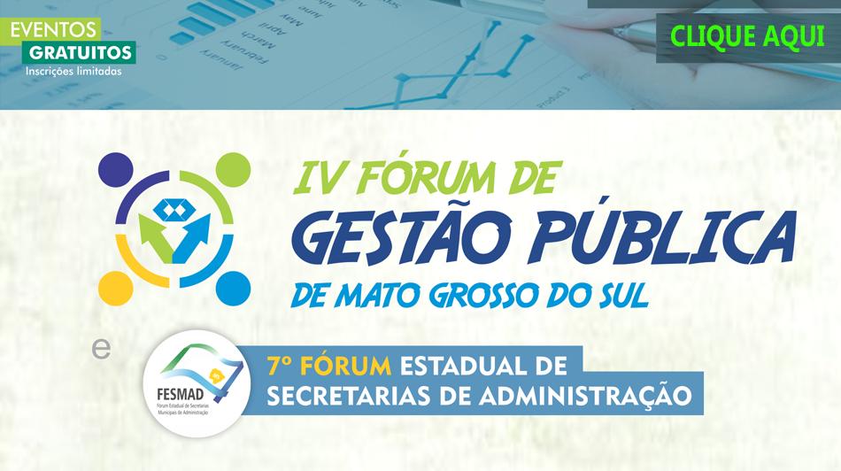 CRA-MS e parceiros reúnem gestores públicos para dois dias de eventos em Campo Grande
