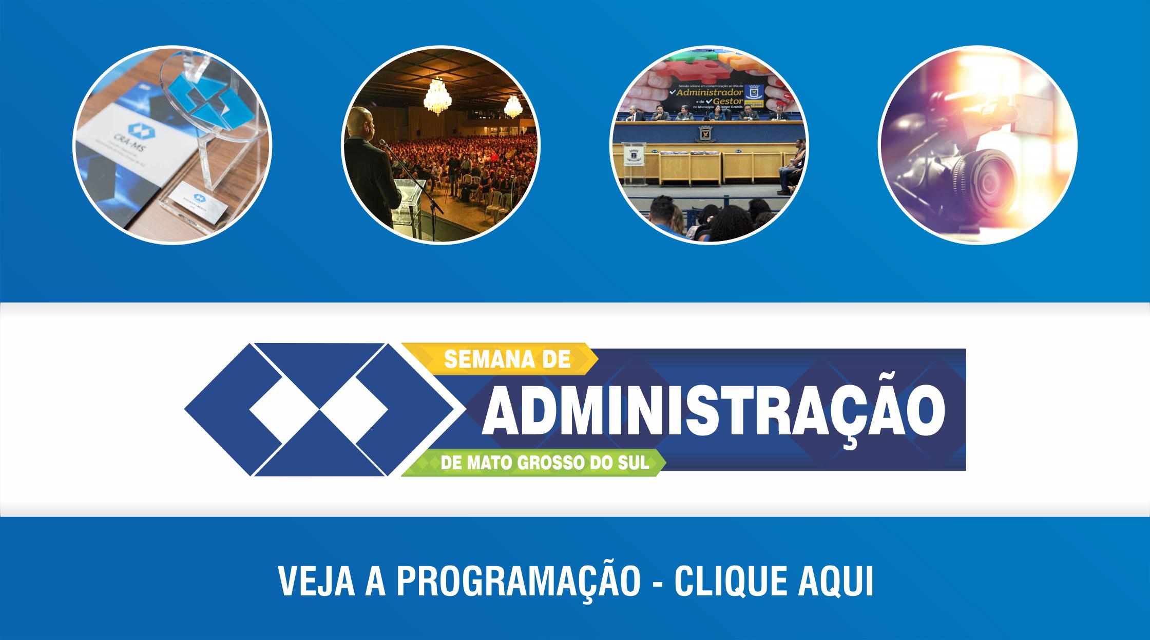 CRA-MS lança programação do Mês do Administrador 2019