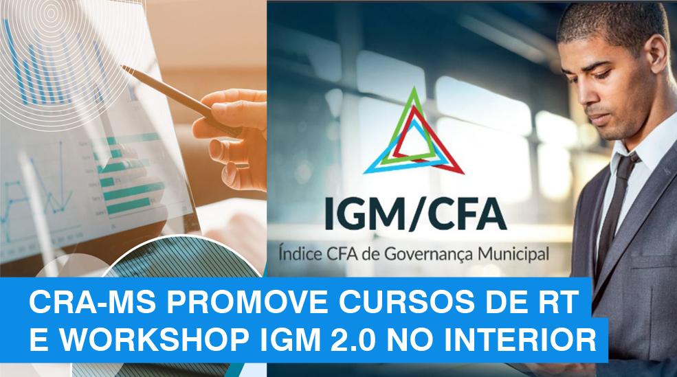 Com cursos de RT e IGM 2.0, CRA-MS promove educação continuada no interior