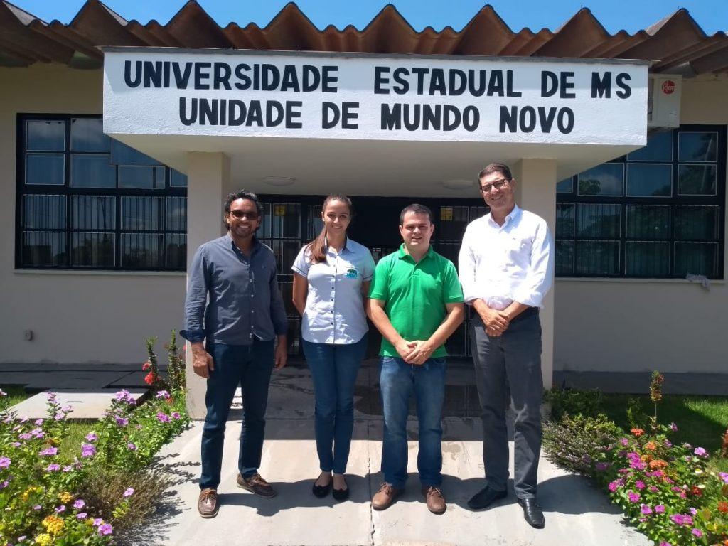 Conselho de Administração cumpre agenda em Mundo Novo e propõe parceria na UEMS