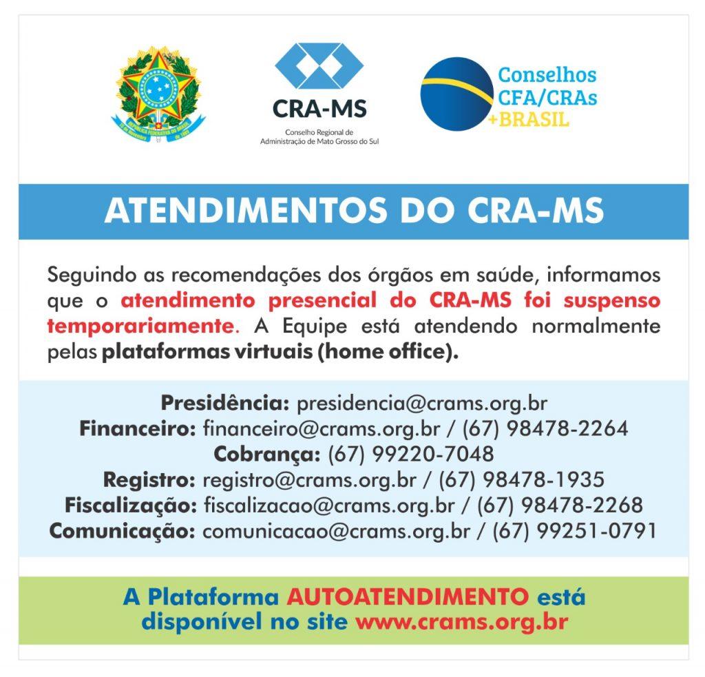 Atendimento CRA-MS
