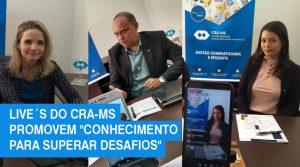 Live´s do CRA-MS superam 1.800 visualizações no Facebook, Instagram e Youtube