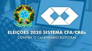 Sistema CFA/CRAs disponibiliza calendário eleitoral de 2020