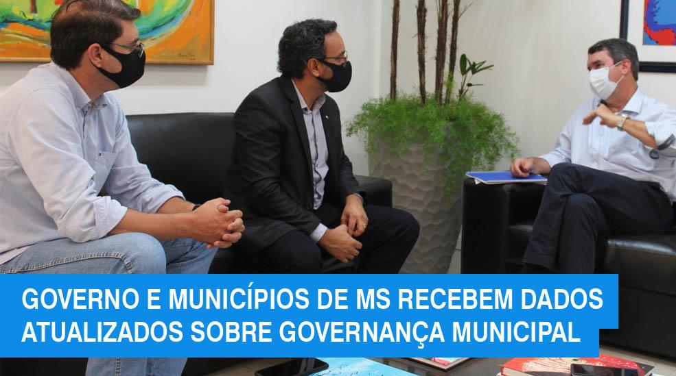 Índice de Governança Municipal atualizado é entregue ao governo do Estado e à associação dos municípios