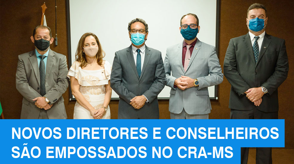 """Novos diretores e conselheiros do CRA-MS tomam posse no """"Ano da ADM"""""""