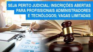 Profissionais ADM já podem fazer a inscrição no curso Práticas em Perícias Judiciais